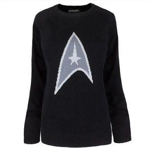 Star Trek Black Knitted Sweater